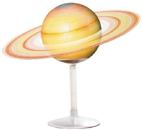 60ピース ジグソーパズル 3D球体パズル 土星儀 -THE SATURN-