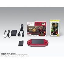 PSP「プレイステーション・ポータブル」 新米ハンターズパック ラディアン・レッド (PSPJ-30006) 【メーカー生産終了】