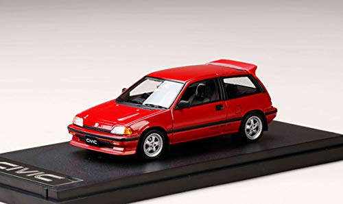 Details about MARK43 PM4399CR 1:43 Honda Civic Si (AT) 1984 MUGEN MR-5 red  From japan