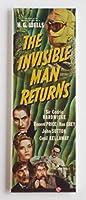 Invisible Man Returns映画ポスター冷蔵庫マグネット( 1.5X 4.5インチ