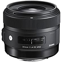 Sigma 30mm f/1.4 DC HSM Fixed Lens for Sony A-Mount Cameras - International Version (No Warranty)