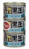 黒缶 毎日 黒缶3P しらす入りかつお×18個入り