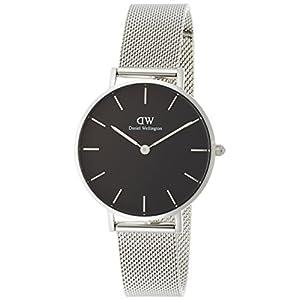 [ダニエル・ウェリントン]Daniel Wellington 腕時計 Classic Petite ブラック文字盤 DW00100162 レディース 【並行輸入品】