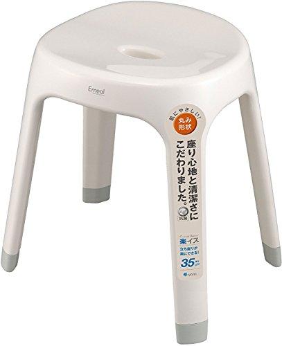 アスベル エミール 風呂イス ホワイト S35(1コ入)