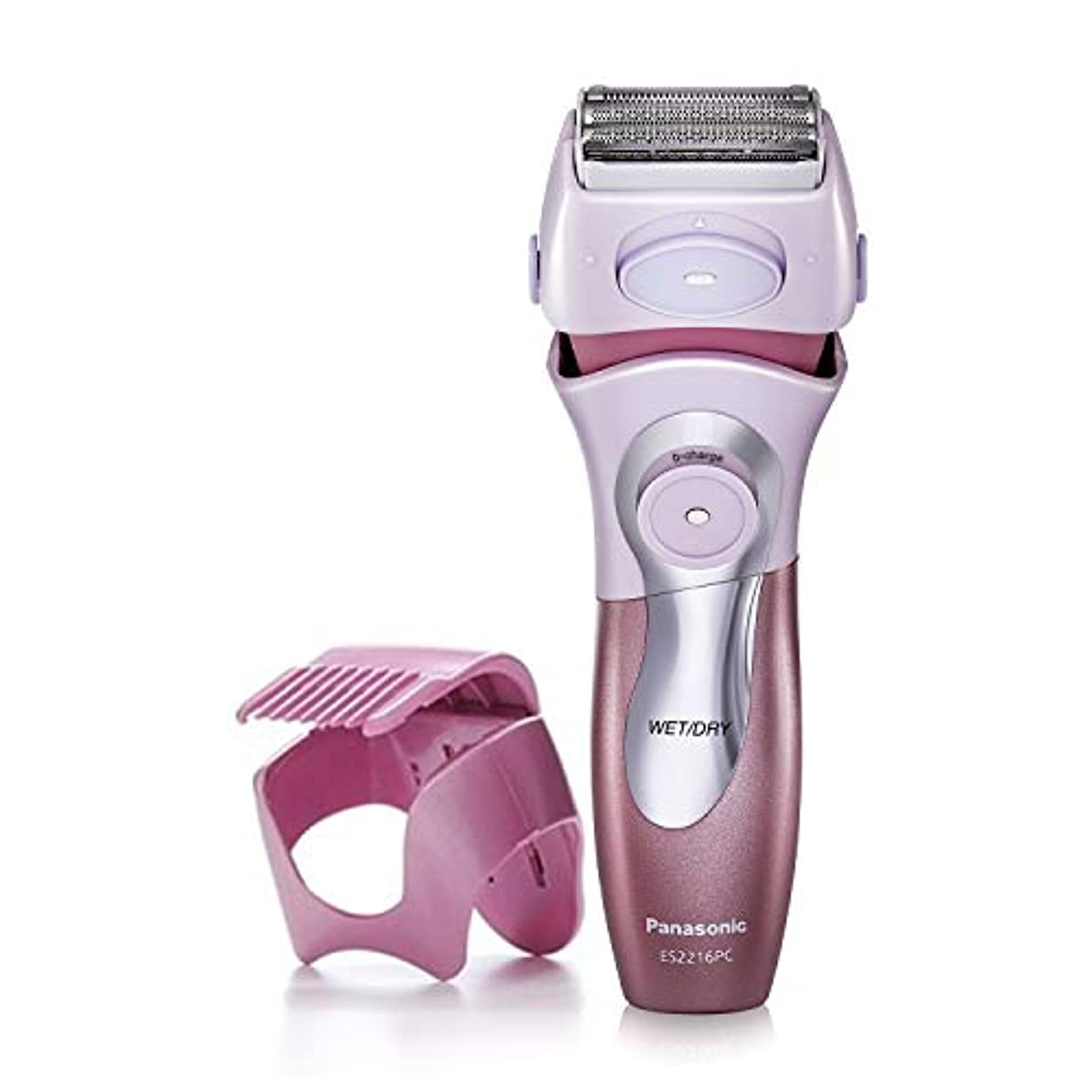 小人ラック無視Panasonic ES2216PC Close Curves Women's Electric Shaver, 4-Blade Cordless Electric Razor with Bikini Attachment...