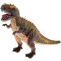 興味深いLifelike電動恐竜の子供ノベルティおもちゃギフトblack-brown