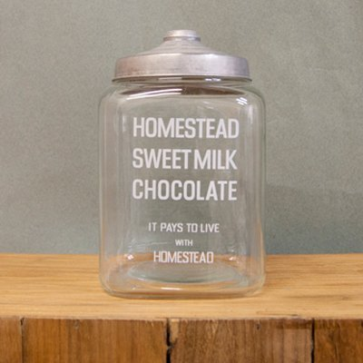 RoomClip商品情報 - AXCIS(アクシス)ホームステッド(Homestead) GLASS JAR MILK CHOCOLATE