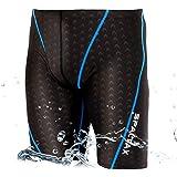 競泳水着 メンズ フィットネス 男性用 スイムウェア ジム ハーフスパッツ 水泳パンツ スイミング