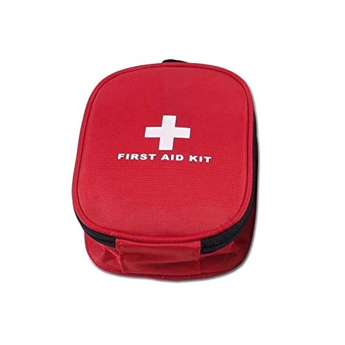 誘惑お手伝いさん効能ある家族、車、旅行、キャンプ、職場、サバイバル、アウトドア用の応急処置キット - サバイバルホイッスル、手袋、はさみ用のミニ応急処置キット