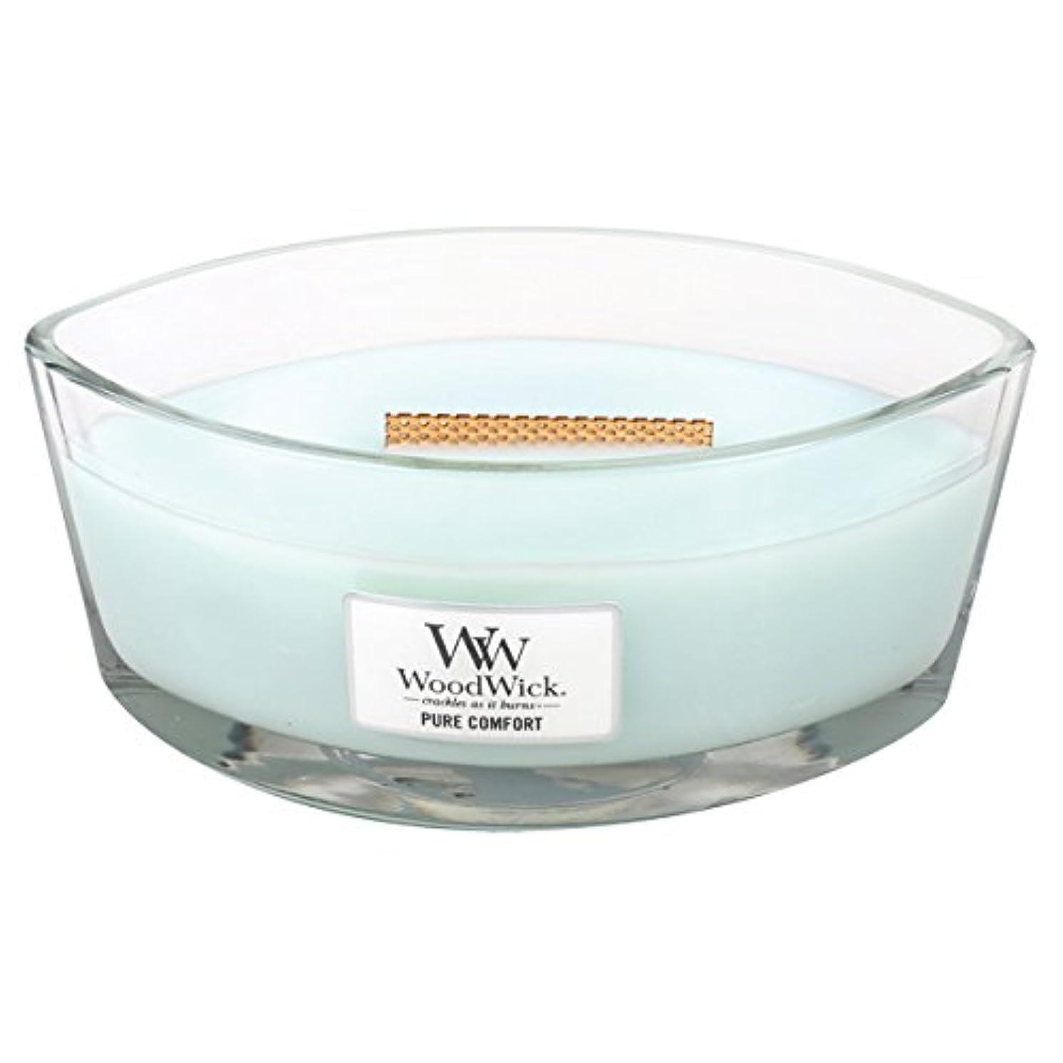 雑品包帯導入するWood Wick ハースウィックL 「 ピュアコンフォート 」 キャンドル W940053027