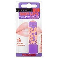 Maybelline Baby Lips Lip Balm - Peach Kiss メイベリン赤ちゃんの唇のリップクリーム - 桃のキス [並行輸入品]