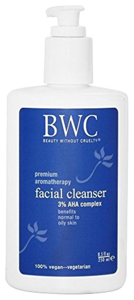 なだめる悪化する無しBeauty Without Cruelty 洗顔料 3%AHAコンプレックス 8.5液量オンス (250 ml) [並行輸入品]