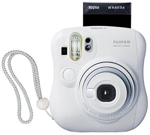 FUJIFILM インスタントカメラ チェキ instax mini 25 ホワイト INS MINI 25 WT