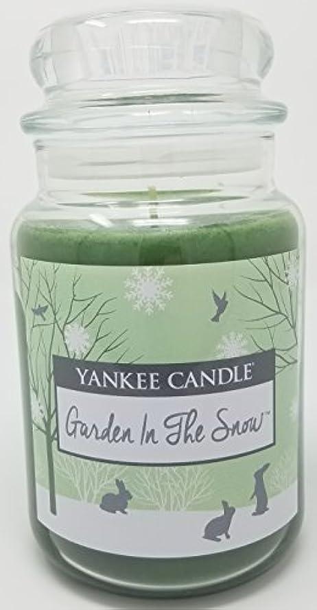 睡眠地震構造Yankee Candle Garden in the Snow Large Jar Candle