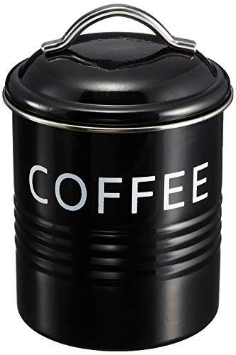 SALUS バーネット キャニスター 黒 COFFEE