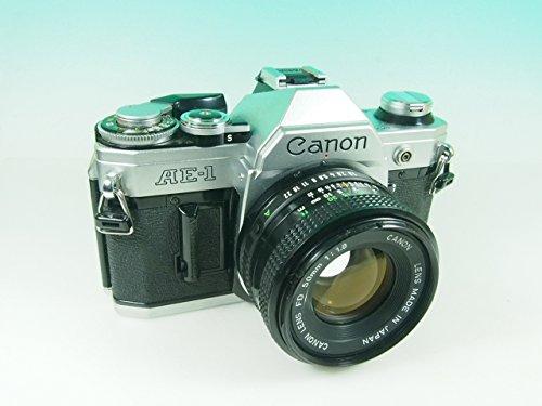 canon AE-1 FD50mm F1.8付き