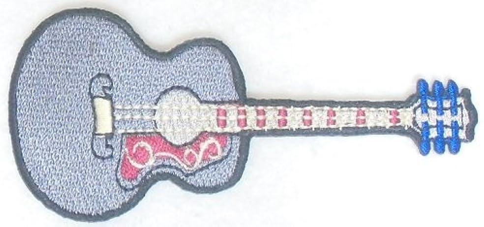 伝染性のなめるスペクトラムワッペン ギター グレー D-90