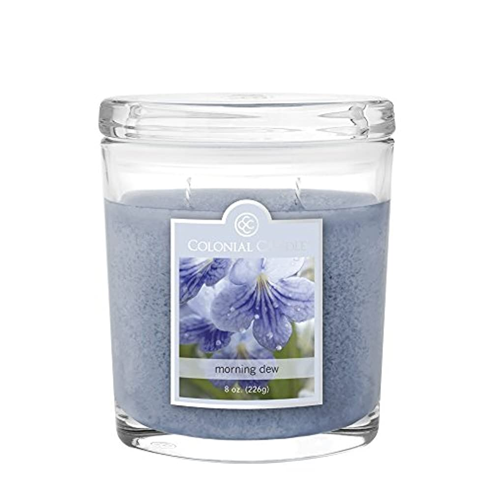 Colonial Candle cc008.4651 Morning Dew Scented Candle、8オンス