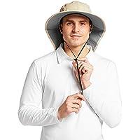 d46b01510ca Solbari UPF 50+ Mens Outback Sun Protection Sun Hat - UV Protection