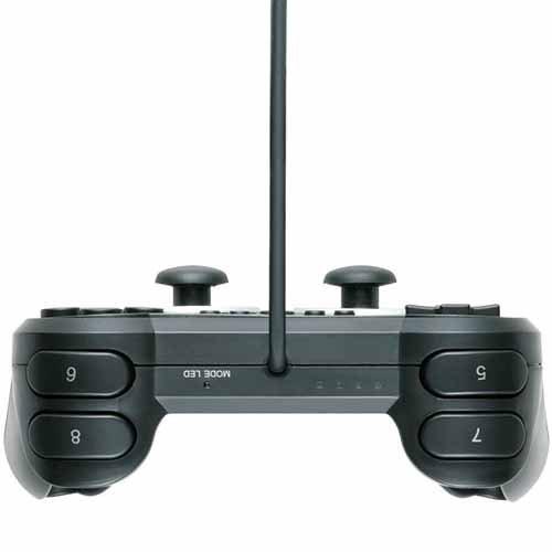 エレコム ゲームパッド USB接続 12ボタンアナログスティック搭載 振動/連射 高耐久 【ファイナルファンタジーXIV: 新生エオルゼア推奨】 ブラック JC-U3312SBK