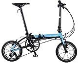 ダホン(DAHON) 2020年モデル K3 3段変速 折りたたみ自転車 dahon-20k3blbk00 ブルー/ブラック