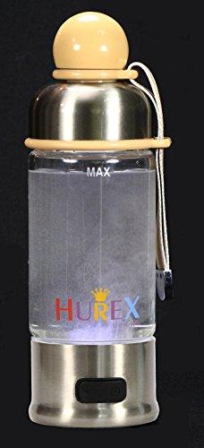 かわいくて綺麗な耐熱ガラス容器の HUREXⓇ 携帯用水素水...
