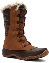 The North Face Nuptse Purna Boot – Women 's Dachshund Brown/Shiny Demitasse Brown、5.5