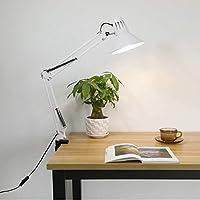 テーブルランプ、アイケア、LED ランプ、デスクランプ、学生読書灯、夜間照明、ベッドサイドランプ、ワーキング、勉強,D