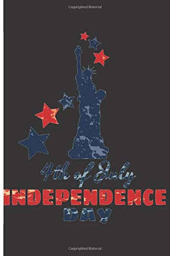 """4th Of July Independence Day: 120 Expenses Pages - 6"""" x 9"""" - Planner, Journal, Notebook, Composition Book, Diary for W"""