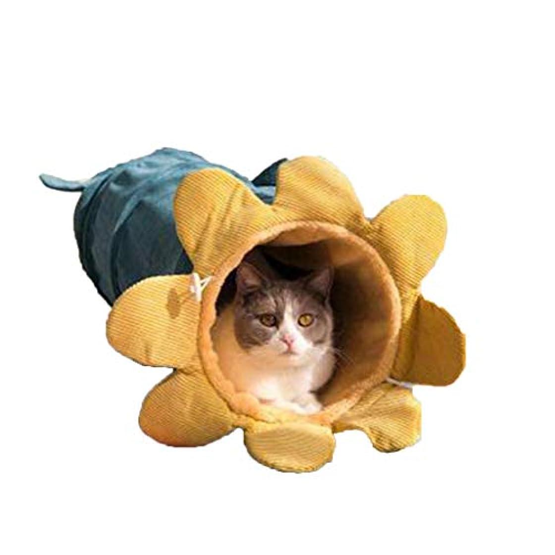 放出スチールより多い猫の巣、玩具猫用ドリルチューブ、猫のトイレ猫コーデュロイ猫用品、折りたたみ猫トンネルぬいぐるみバッグ,C