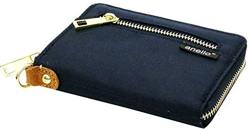 anello(アネロ) 財布 メンズ 二つ折り ナイロン 布...