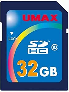 UMAX SDHC Class10 32GB UM-SDHC-C10-32G