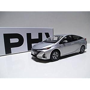 トヨタ 1/30 新型プリウスPHV PRIUS PHV オフィシャルミニカー カラーサンプル シルバーメタリック 1F7