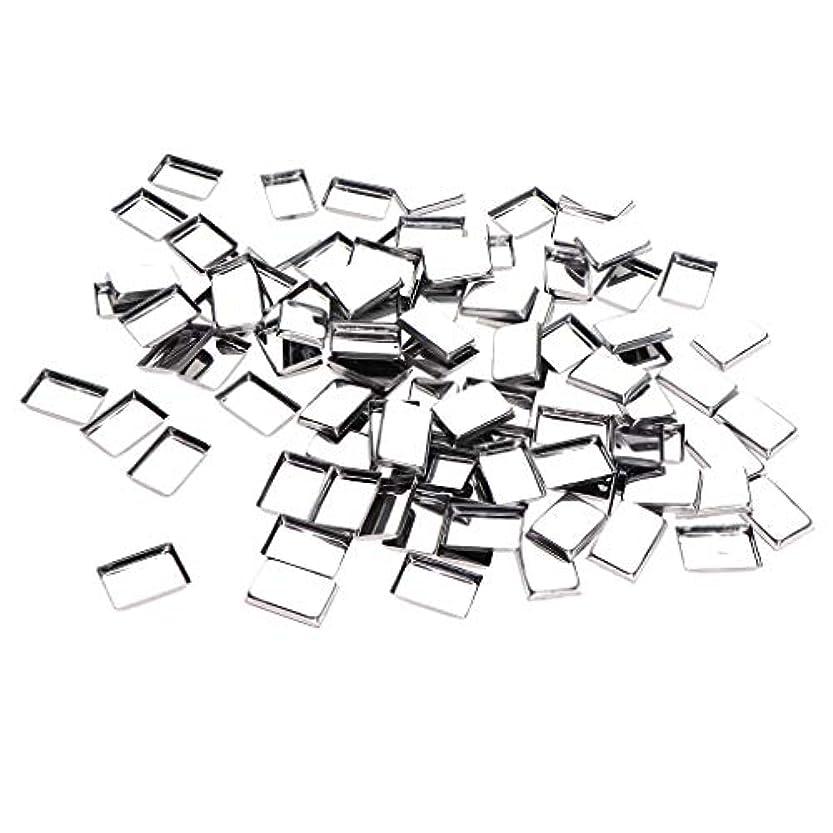 漏れサラミ男性約100個 メイクアップパン 化粧パレット DIY 旅行小物 金属製 3タイプ選べ - リタングル