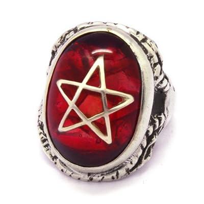 [アレックスストリーター]ALEX STREETER ANGEL HEART RING CLACK RED エンジェルハートリング クラック赤 ALR371C RED 11