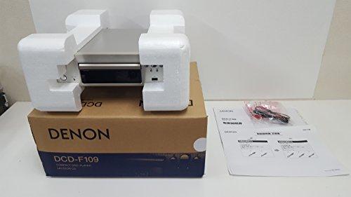 DENON CDプレーヤー Fシリーズ プレミアムシルバー DCD-F109-SP