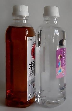 木酢液クリア 500ml入り【木酢液クリアは発ガン性検査済みです】