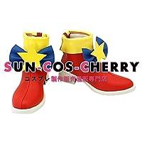 【サイズ選択可】コスプレ靴 ブーツ K-1887 プリパラ PriPara レオナ 女性22CM