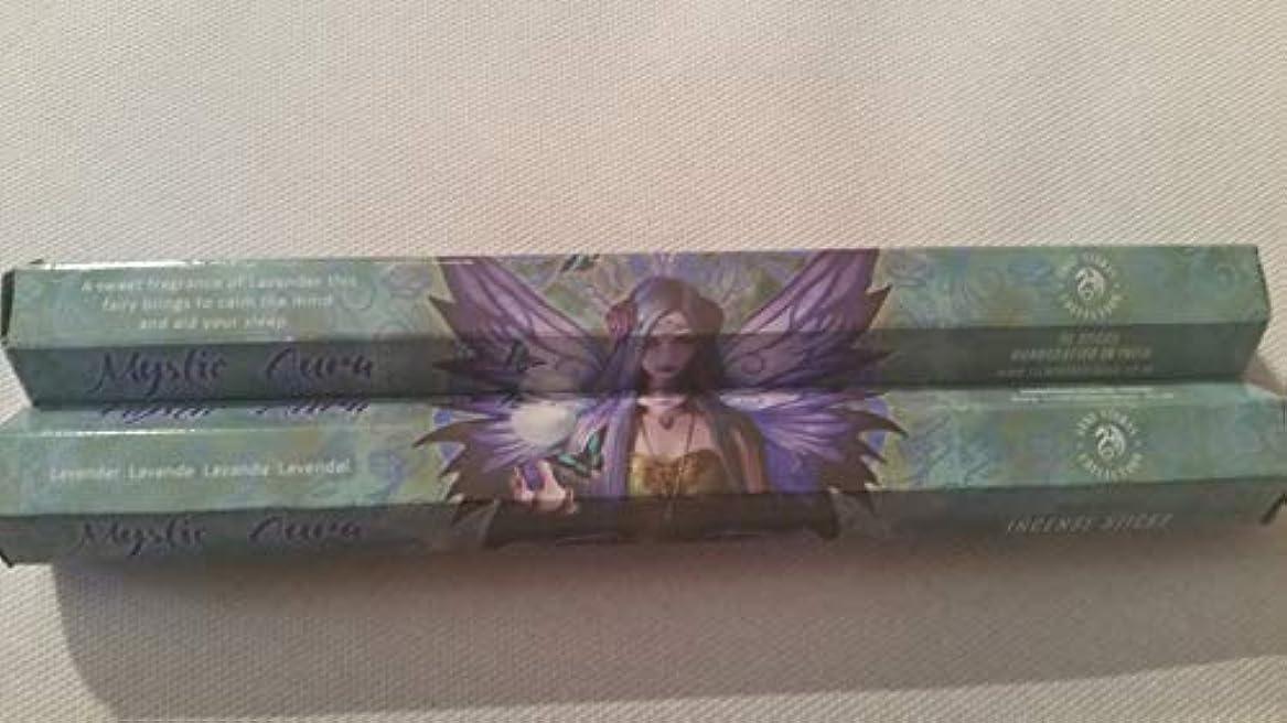 ラッカスパドル口述するパックの6ミスティックAura Incense Sticks by Anne Stokes
