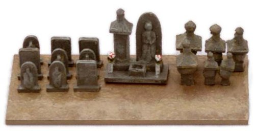 トミーテック ジオコレ 情景コレクション 情景小物024 お墓C 江戸時代風 ジオラマ用品