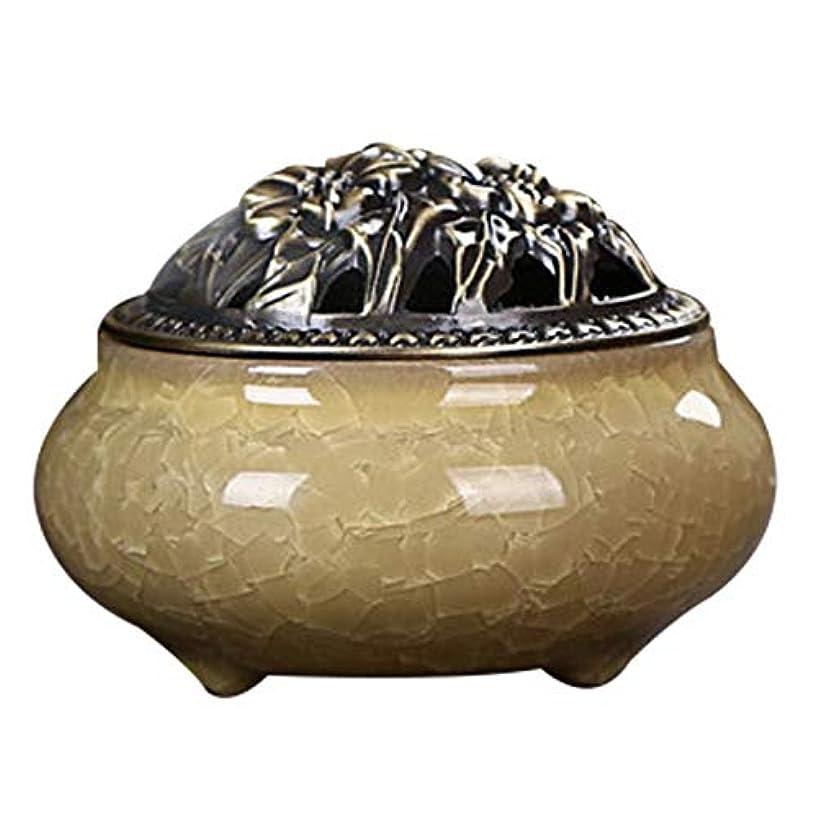プランテーション上悲しいことにZhaozhe陶磁器 香炉 香皿 セラミック 渦巻き線香 アロマ などに