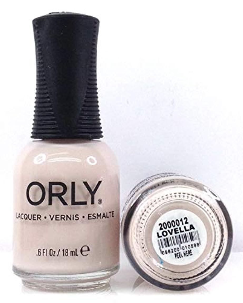 寛解異形宮殿Orly Nail Lacquer - Radical Optimism 2019 Collection - Lovella - 0.6 oz / 18 mL