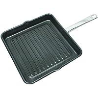 Kinetic 29334R GoGreen Classicor Square Grill Pan with Eclipse Non stick, 9.5', Black [並行輸入品]