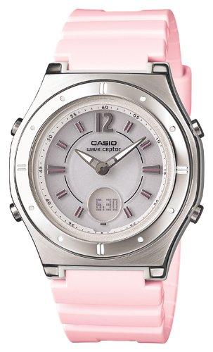 [カシオ]CASIO 腕時計 ウェーブセプター 電波ソーラー LWA-M142-4AJF レディース