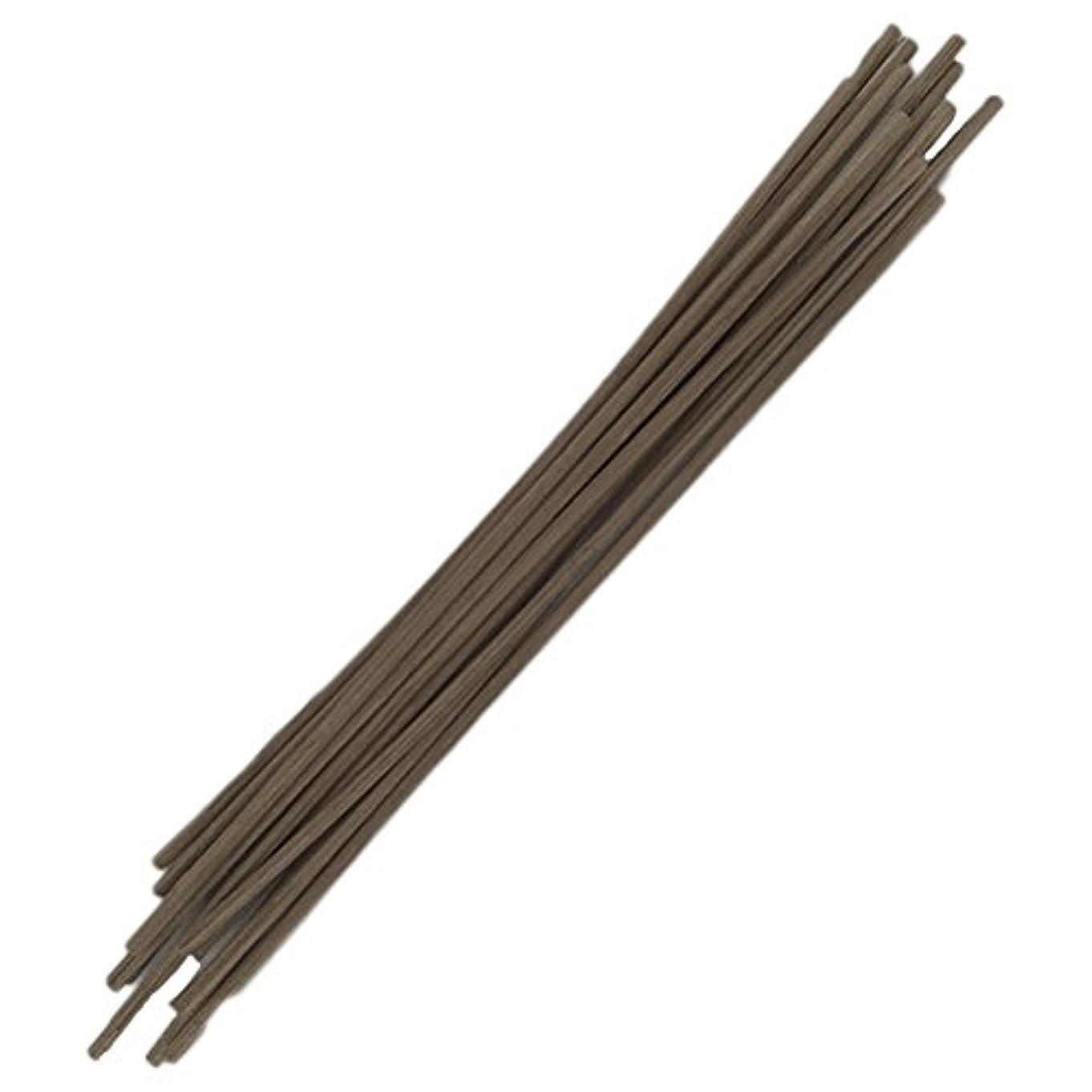 ブラウンハッチ生産性Healifty 30pcs籐のリードは自然の香りのリードのディフューザーのアロマオイルディフューザー籐25センチメートルスティック