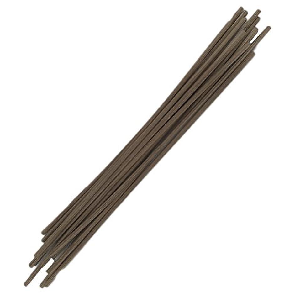 見捨てる送るビートHEALIFTY 30pcs籐のリードは自然の香りのリードのディフューザーのアロマオイルディフューザー籐25センチメートルスティック