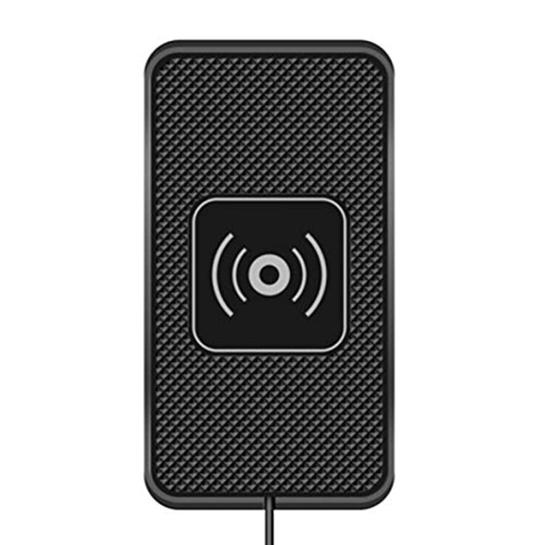 Saikogoods C3カーワイヤレス充電器滑り止めシリコンマット充電パッドドックユニバーサル携帯電話充電器用qi対応デバイス