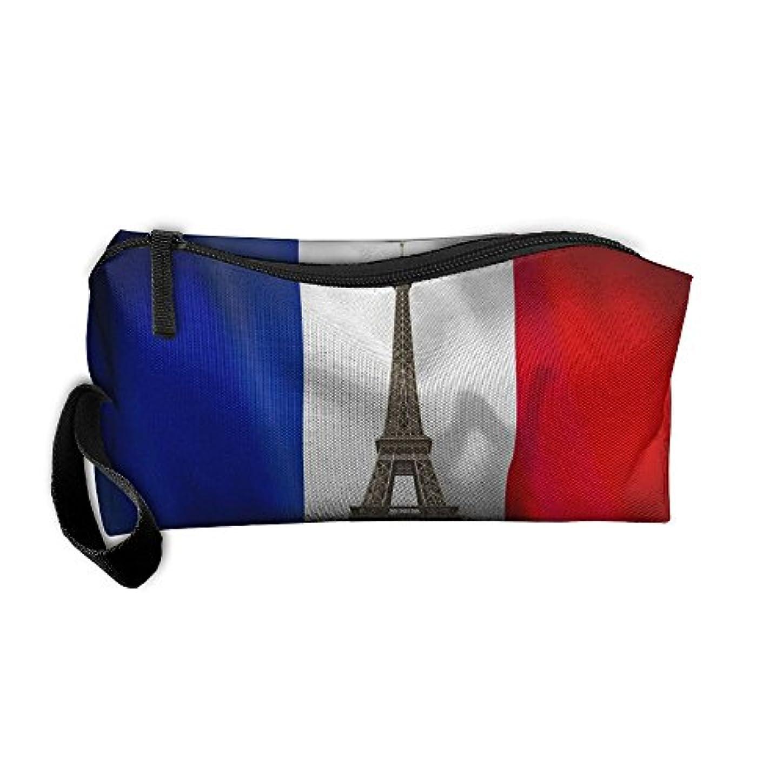 オークメダル何よりもコスメティックバッグブラシポーチポータブルメイクアップバッグフランスファスナー財布HangbagペンオーガナイザーCarryケースリストレットホルダー