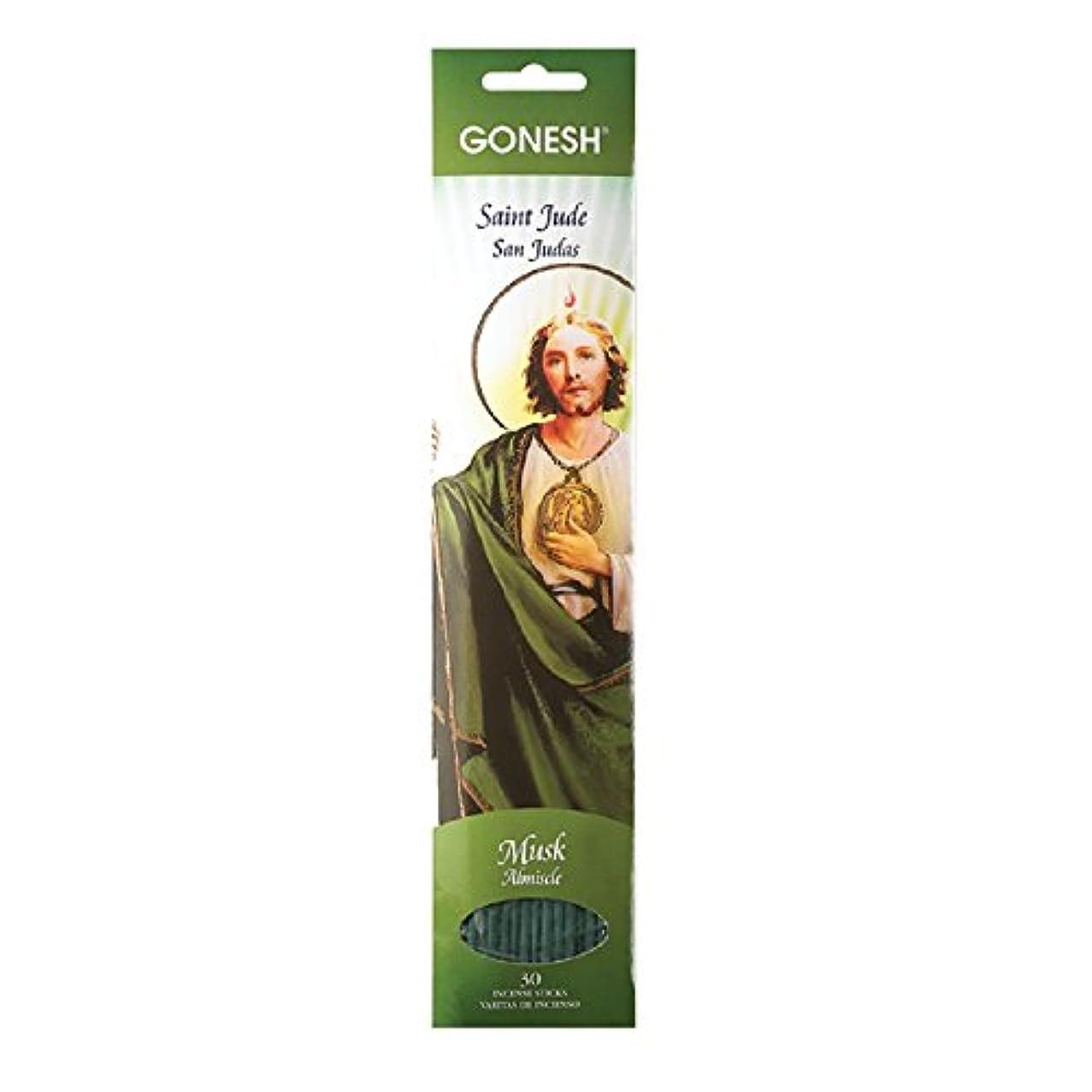 アーク時代遅れ事前Gonesh Incense Sticks守護聖人コレクションセントJude、30ピース