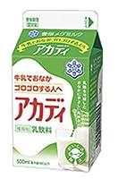 雪印 メグミルク アカディ【500ml×6本入】 クール便